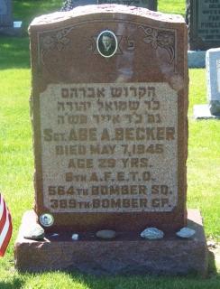 Sgt Abe A Becker