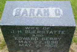 Sarah Catherine <i>Brinkman</i> Buerstatte