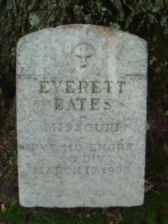 Pvt Everett Bates