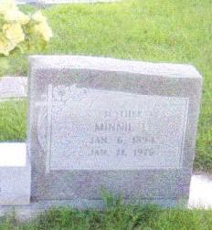 Minnie Lee <i>Baggett</i> Boss