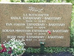 Eva <i>Karl</i> Esfandiary Bakhtiari