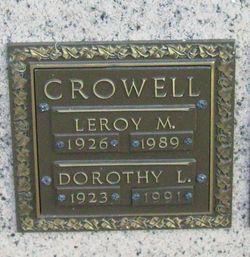 Leroy M. Crowell