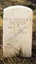 Pvt Thomas E. Meador