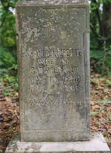 Sarah A. <i>Faucette</i> Merritt