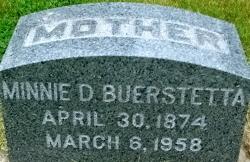 Minnie D. Buerstetta