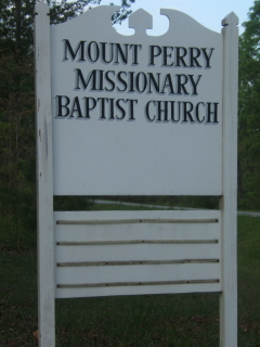 Mount  Perry Missionary Baptist Church Cemetery