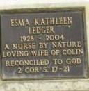 Esma Kathleen Ledger