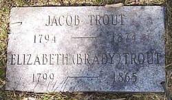 Elizabeth <i>Brady</i> Trout