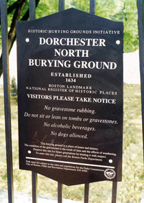 Dorchester North Burying Ground