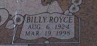 Billy Royce Green