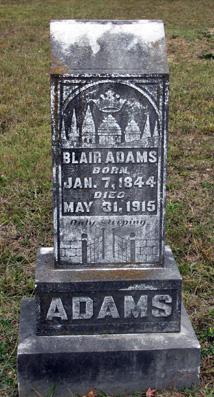 Blair Maze Adams
