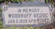 Woodruff Gedge