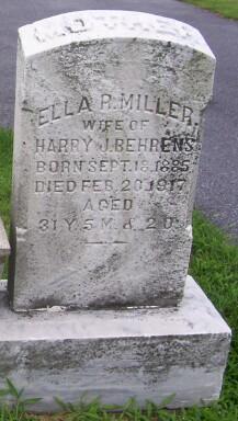 Ella R <i>Miller</i> Behrens