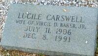 Lucille <i>Carswell</i> Baker