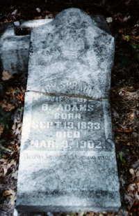Mary <i>Spradlin</i> Adams