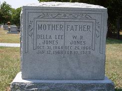 Della Lee <i>Atwood</i> Jones