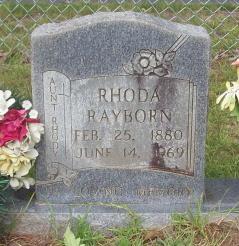 Rhoda Rayborn
