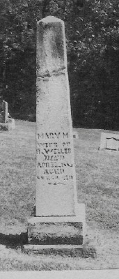 Mary Magdalena <i>Leffler</i> Weller