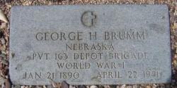 George Henry Hank Brumm