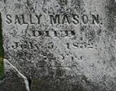 Sarah Sally <i>Thayer</i> Mason
