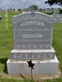 Harriett <i>Hanshaw</i> Carson