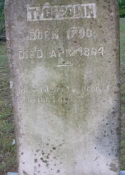 Thomas Cotton T C Bolin Bowlin