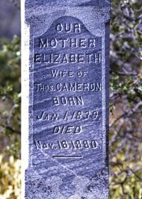 Elizabeth Irene <i>Green(e)</i> Cameron
