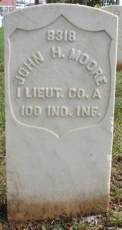 Lieut John H. Moore