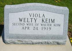 Viola A <i>Welty</i> Keim