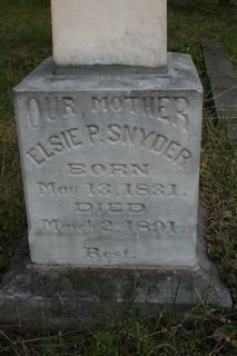 Elsie Pamelia <i>Jacob</i> Snyder