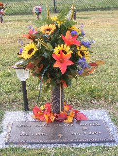 Leta Faye Grandma Texas <i>Clark</i> Miller