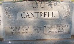 Maggie Allene <i>McCormack</i> Cantrell