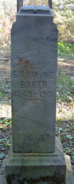 Pvt Solomon S. Baker