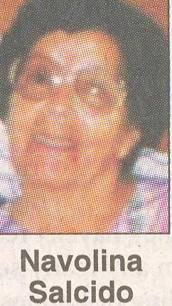 Navolina Maria <i>Gonzales</i> Salcida