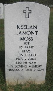 Sgt Keelan Lamont Moss