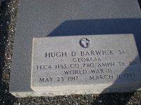 Hugh Dorsey Barwick, Sr