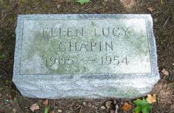 Ellen Lucy <i>Watson</i> Chapin