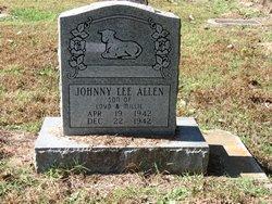 Johnny Lee Allen