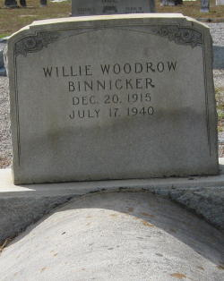 Willie Woodrow Binnicker