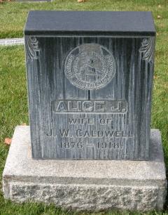 Alice Jane <i>Osborne</i> Caldwell