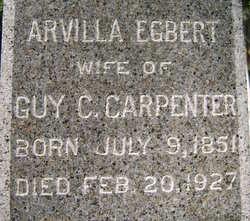 Arvilla Ardene <i>Egbert</i> Carpenter