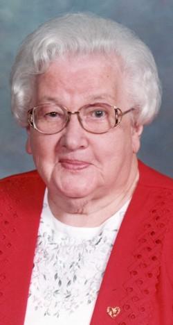 Mary Evelyn <i>Welk</i> Brown