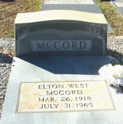 Elton West McCord