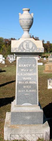 Nancy Elizabeth <i>Wakefield</i> Leonard