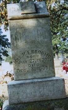 Mary Elizabeth <i>Riley</i> Broome