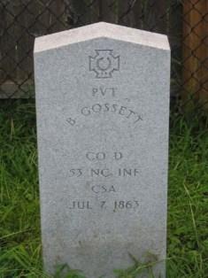 Pvt Henry Gossett