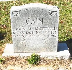Mahittabelle Cain