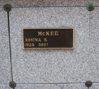 Rosina Marie <i>Schmidt</i> McKee