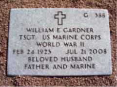 William Edwin Bill Gardner