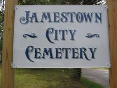 Jamestown City Cemetery
